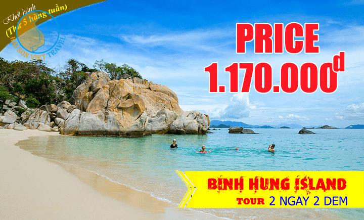 Tour du lịch Bình Hưng - Thưởng thức Tôm Hùm 2 ngày 2 đêm