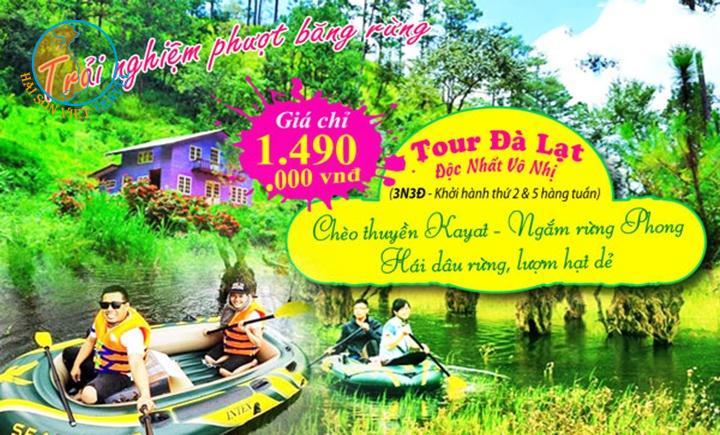 Tour Đà Lạt - Khám phá Rừng Phong 3 ngày 3 đêm